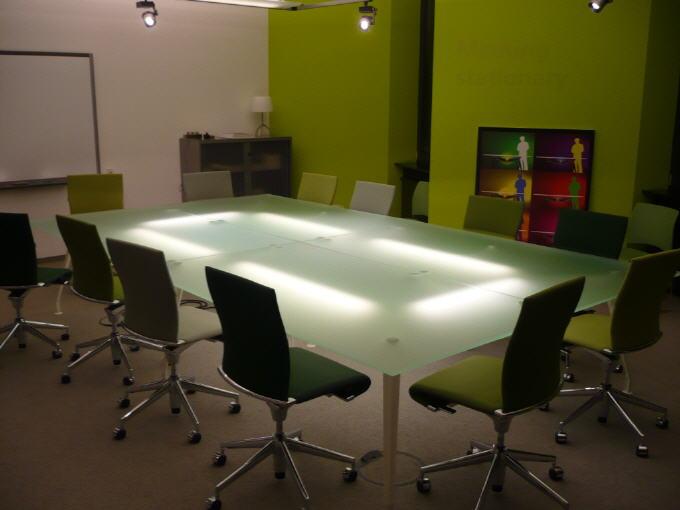 Beleuchtung Meetingraum